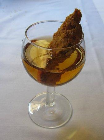 Ristorante il Pennello : Cantucci e Vin Santo