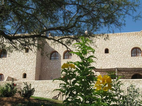 Dar Essaada: vue du jardin