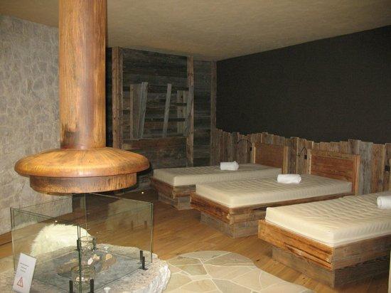 Romantik Hotel Santer: una delle zone relax della SPA
