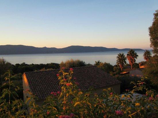 Résidence La Plage : superbe vue sur le golfe du Valinco