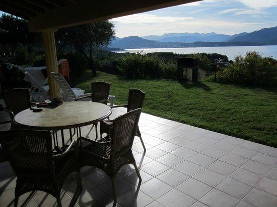 Résidence La Plage : terrasse + vue