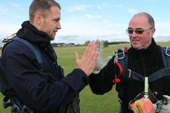 Peterlee Parachute Centre: mission done