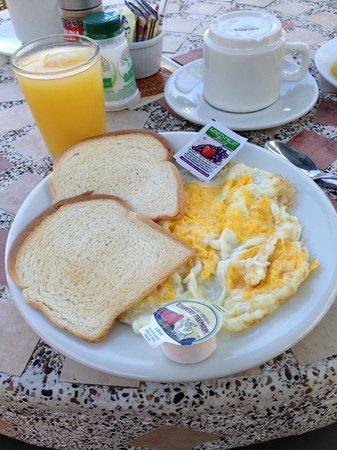 Sunset Hotel: An Assortment of breakfast