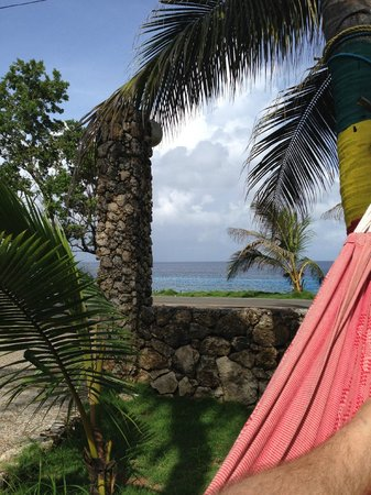 Sunset Hotel: Take advantage of the hammocks! This was my office for the day I actually had to work!!