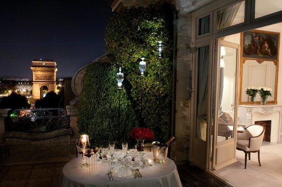 Hotel Raphael : SUITE Arc de Triomphe