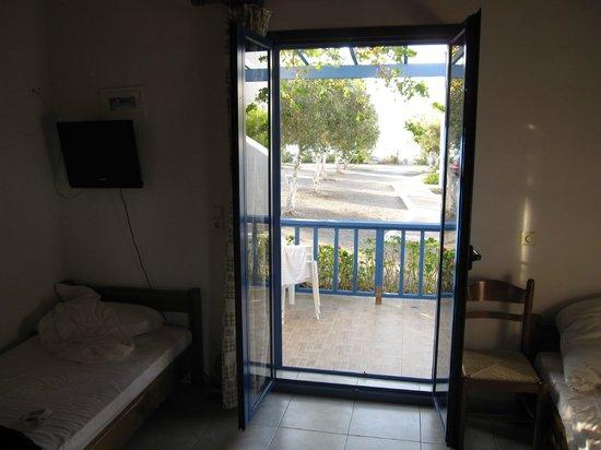 Fata Morgana Studios & Apartments: Room with a view...
