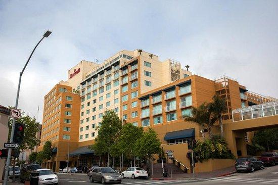 Monterey Marriott: View of hotel