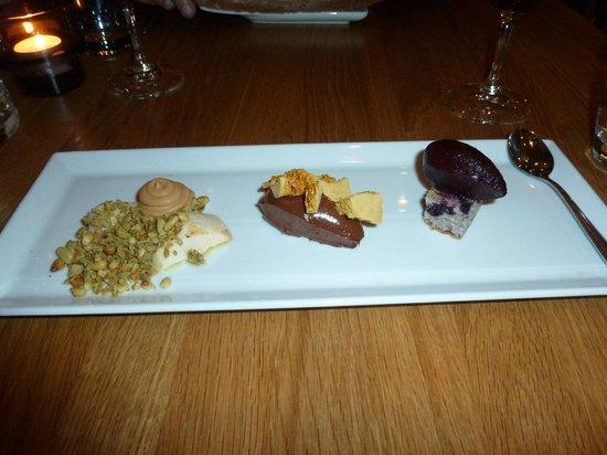 Copas y Tapas: Birthday Surprise Tapas dessert