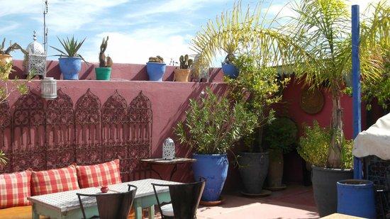Riad Numero 10: Roof terrace