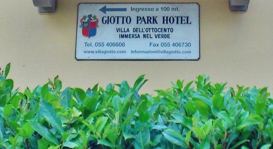 Giotto Park Hotel: Indicazioni per l'Hotel Giotto