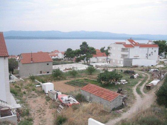 Bol Apartments Gospojica: View from balcony