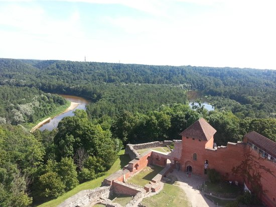 Turaida Castle: View from the tower