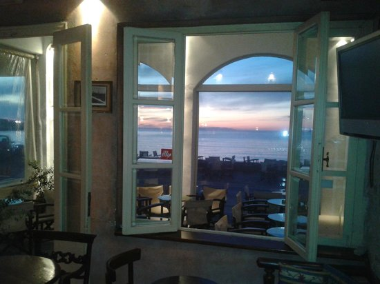 Meltemi Cafe: View from the Window