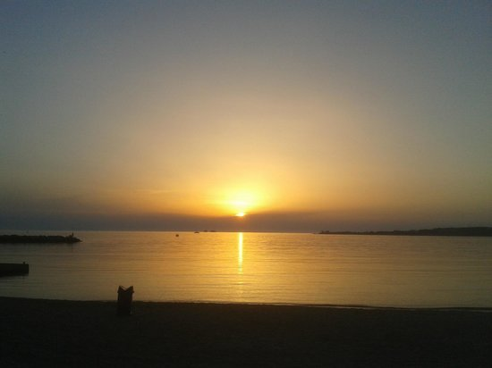 Meltemi Cafe: Sunset View.