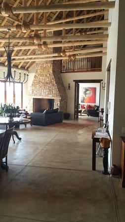 Tamodi Lodge: Das Wohnzimmer der Lodge...