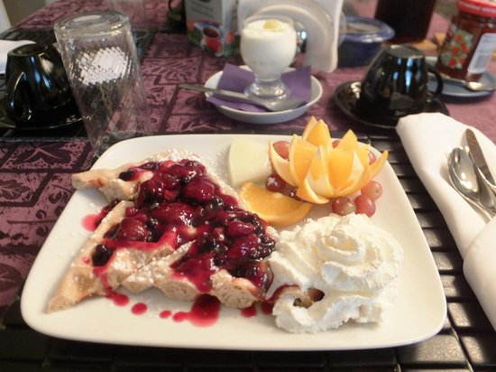 Abadin Bed and Breakfast : Breakfast