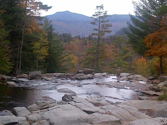 Above the Jackson Falls