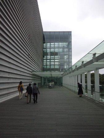 The National Art Center, Tokyo : 入口外観
