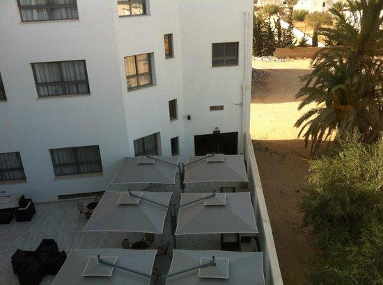 Olympic Djerba : vue de ma chambre