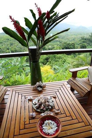 Emaho Sekawa Resort: I love sitting here and reading