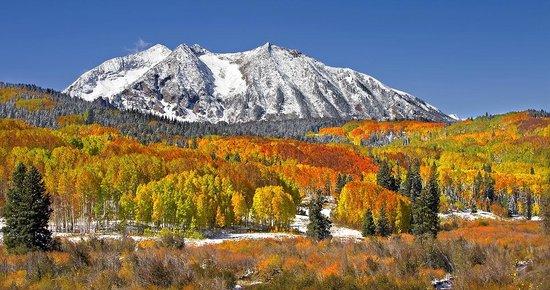 Ruby Mountain ~ Kebler Pass, Colorado.