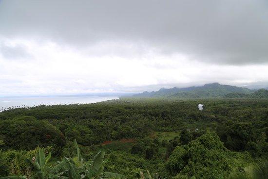 Emaho Sekawa Resort: View from patio