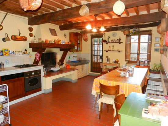 Antica Casa Naldi : küche