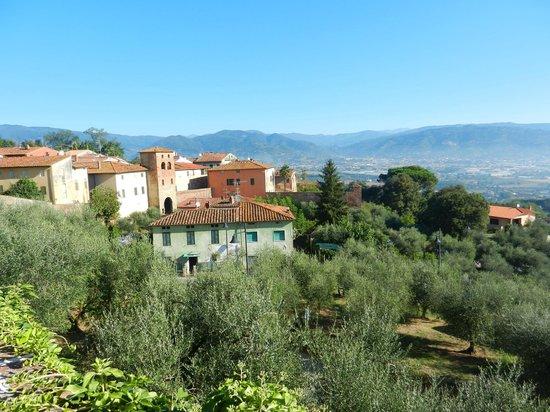 Antica Casa Naldi: Blick von der Mauer