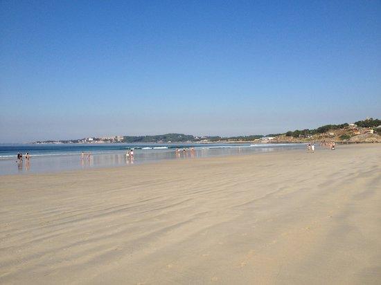 Playa A Lanzada: Por la mañana