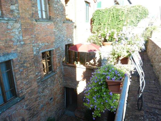 Antica Casa Naldi : Auf der Mauer