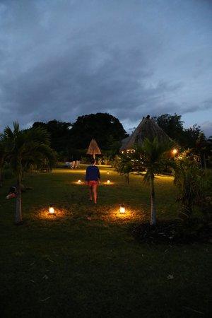 Emaho Sekawa Resort : 入夜的emaho sekawa