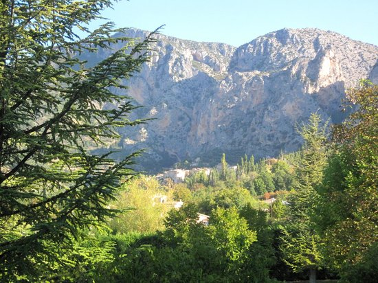 La Bastide de Moustiers : View from our french windows