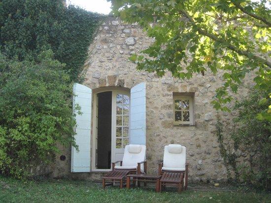La Bastide de Moustiers : The back entrance to Voliere.
