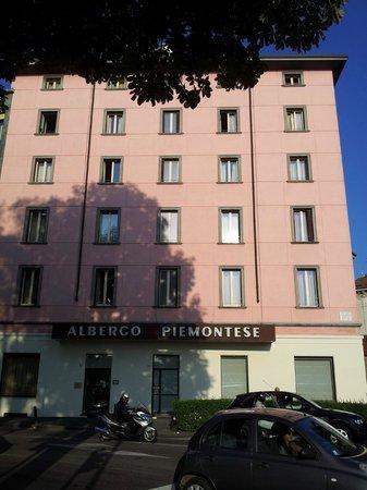 Best Western Hotel Piemontese: Hotellfasade