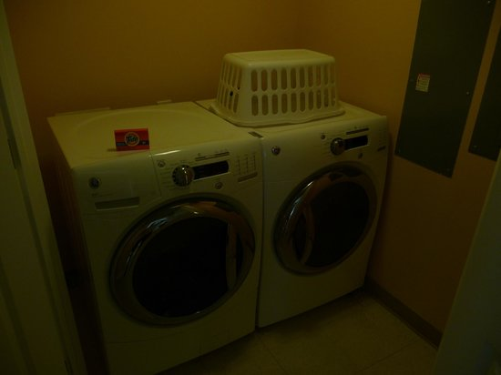 Marriott's Barony Beach Club: In-Suite Laundry