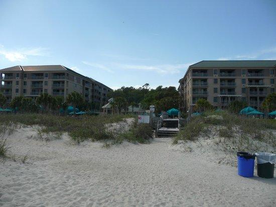 Marriott's Barony Beach Club: Property From Beach