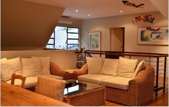 Eden in Linden: Upstairs living room