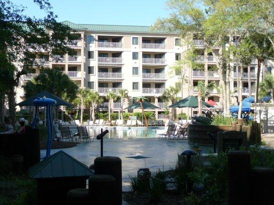 Marriott's Barony Beach Club: Garden Building Pool & Play Area