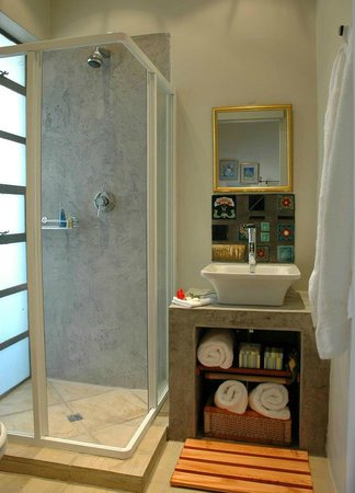 Eden in Linden : ensuite shower