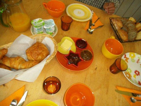 Le Petit Havre : Frühstückstisch