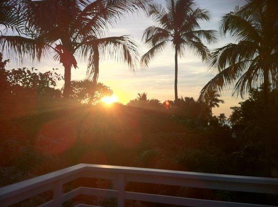 Casa Morada: sunset