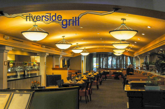 The Riverside Hotel: Restaurant B, L & D