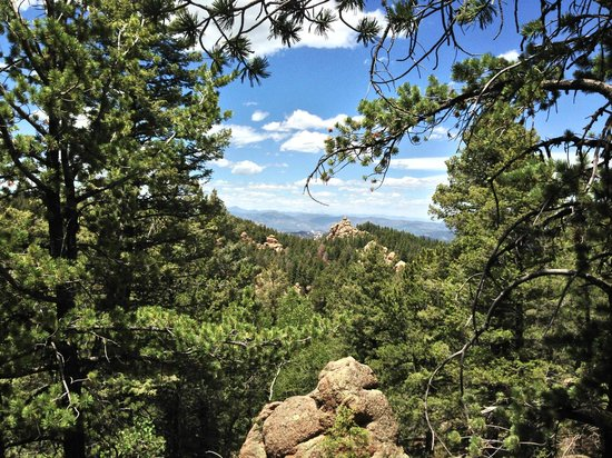 Devil's Head Fire Lookout: one of the many beautiful views