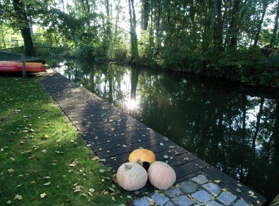 Ferienappartements Am Spreewaldfliess: Garten