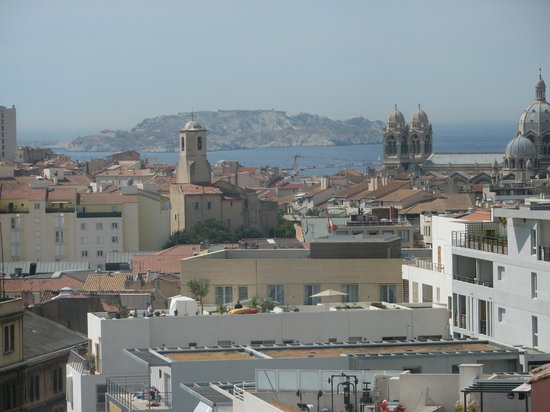 Holiday Inn Express Marseille-Saint Charles: View from Room 708