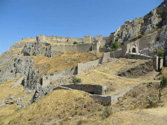 Acrocorinth - Picture of Ancient Corinth (Archaia ...