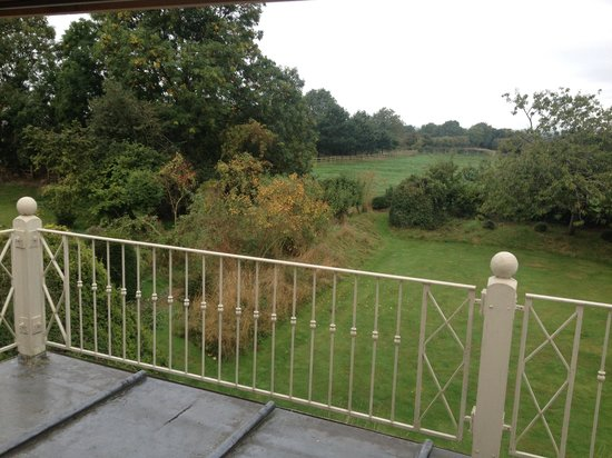 Cross O' Th' Hill Farm: View from our room