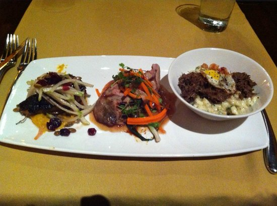 Sonoma Grille: Trio of Hog