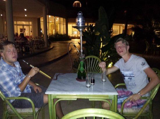 Khayam Garden: au bar chicha