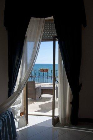 Grand Hotel Fagiano Palace : Вид из номера